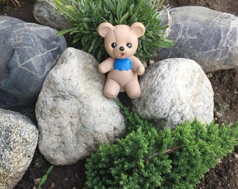 Vintage Rubber Bear, Rubber Toy, Childs Toy, Bear Toy, Teddy Bear, Animal Toy, Bath Toy, Soft Rubber, Retro Rubber Toy, Small Toy.