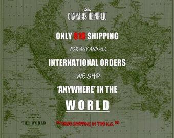 INTERNATIONAL/DOMESTIC Shipping Rates