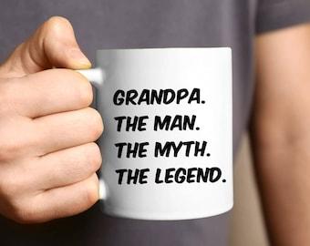 Grandpa Mug, Grandpa Gift, Pregnancy Reveal, Gift For Grandpa, Baby Announcement, Grandpa, Coffee Mug, Fathers Day Gift, New Grandparents