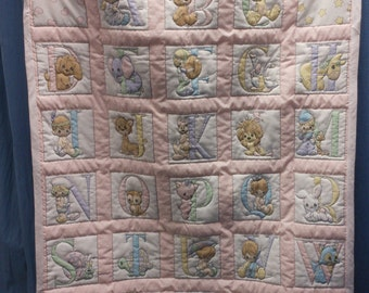 Precious Monents Hand quilted blanket