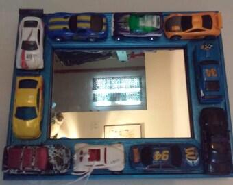 Car themed mirror