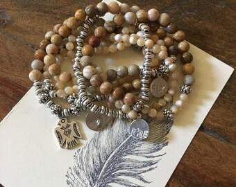 Custom Intention Beaded Bracelet Collection