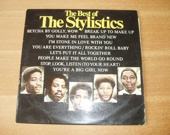 The Best of The Stylistic - Vinyl LP - Excellent  Condition - 70's Soul - AVCO 9109 003