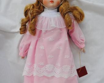 Seymour Mann Muscial Porcelain Doll Julia NIB