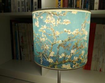 Lampshades Van Gogh, almond tree in bloom