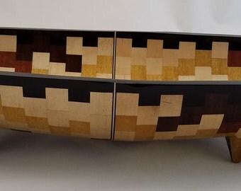 Oval Yonder - Segmented Wood Bowl