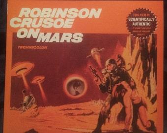 ROBINSON CRUSOE On Mars (1964) Vintage Collectible Laserdisc