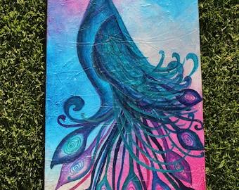 Mystical Bird painting