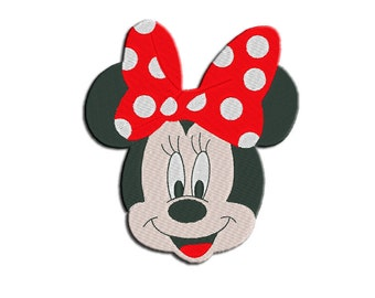 Minnie Mouse Embroidery design - Machine embroidery design