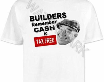 Builders T shirt . shirts . tools
