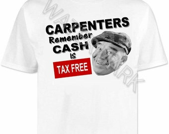 Carpenters T shirt . shirts . tools