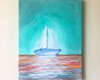 Sailboat- Canvas