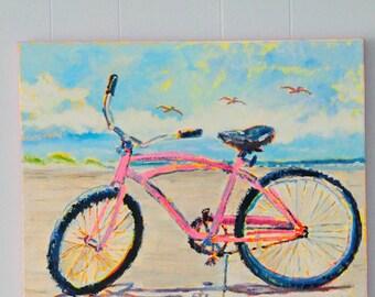 The Pink Beach Bike