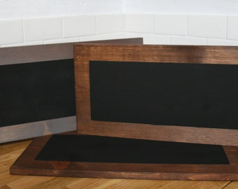 Wood Chalkboard Serving Tray