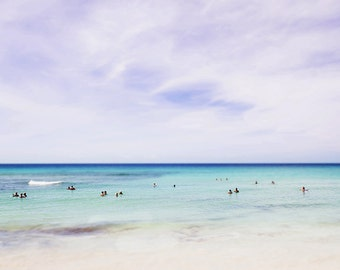 barbados no. 3, beach art, tropical print, nature photography, beach print, Barbados photo, minimalist photo, art print