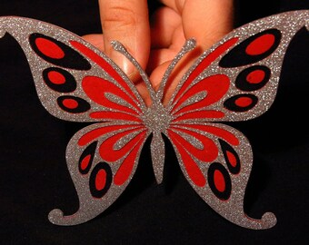 Butterfly 3D Sticker / Magnet