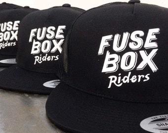 Fuse Box Moto Tavern Riders Snap-Back Hat
