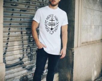 Operation Man Hair - Oval Anchor - Cotton T-Shirt