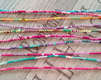 Hairwrap children jewelry hair jewelry colorful braids