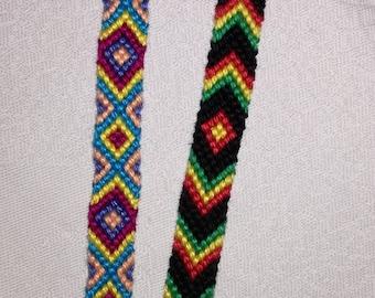 Colorful braided bracelet, Handwoven bracelet, Wrist band, Knotted bracelet, String bracelet, Friendship bracelet, Macrame bracelet, Boho