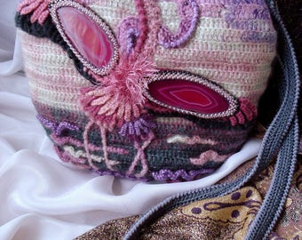 "Bag ""Kiss Flamingo"""