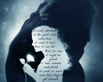 Beauty and the Beast Belle Quote