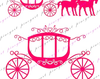 Carriage Svg,Carriage Svg,Carriage Cut File,Princess Carriage Cut File,Carriage Cut File,Carriage Cricut File,Carriage Cricut,Carriage dxf