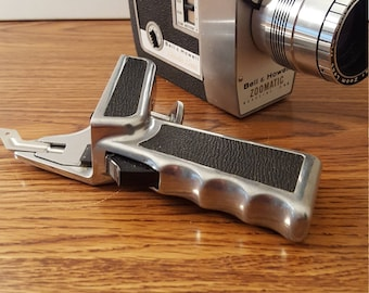Vintage (c. 1960's) Bell & Howell Zoomatic Director Series 8mm Movie Camera with Pistol Grip