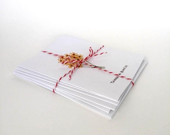 Pack of 5 Thank You Cards