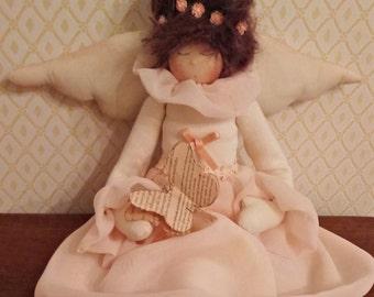 Beautiful angel handmade cloth