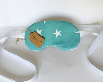 Handmade Reversible Sleep/Travel Mask