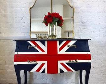 British Flag Union Jack Bombe Chest