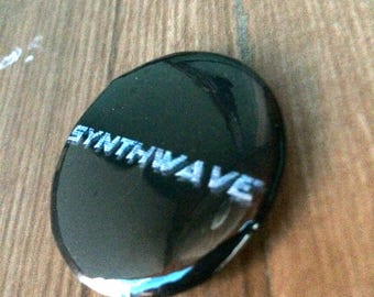 Badge Synthwave