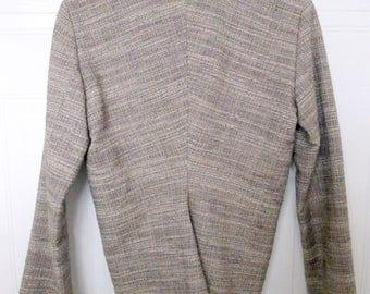 Vintage Lanvin Paris elegant swallowtail blazer jacket