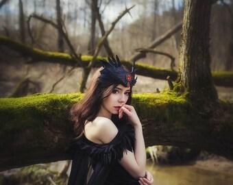 Fantasy Dress, Cosplay Dress, Medieval Dress, Prom Dress, Vampire dress, Black dress, Carnival dress, Witch dress, Halloween dress