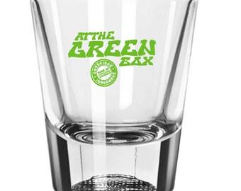 At The Green Box Shot Glass