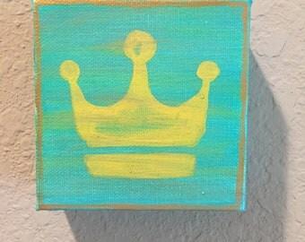 Crown 4x4 painting