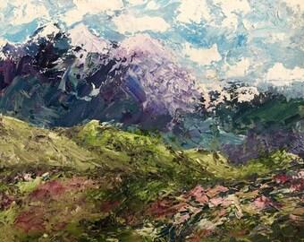 Original Paintings Mountain Meadow