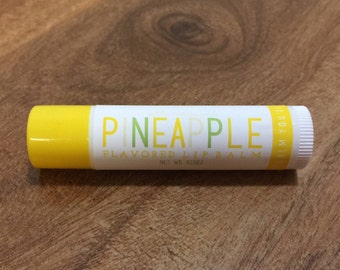 PINEAPPLE Lip Balm - All Natural - Homemade