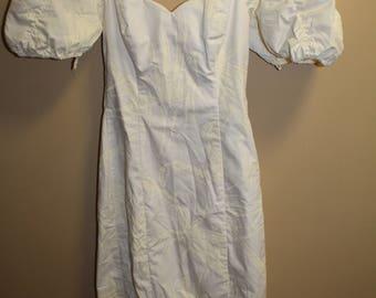 White Hawaiian Dress Wedding Style