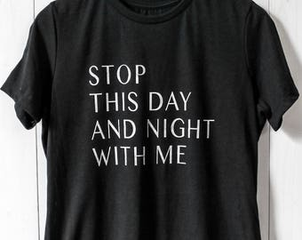 stop with me tee