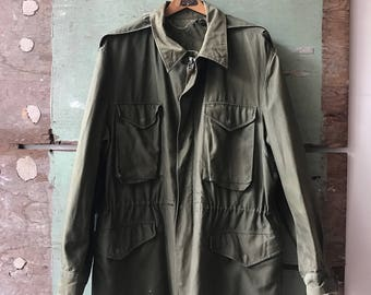 1950's X-Large Military Issue Parka