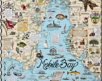 Mobile Bay Map