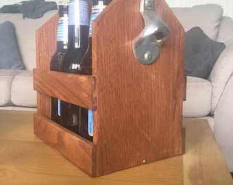 Handmade drink carrier