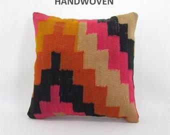 kilim pillow kilim rug home decor kilim pillow cover turkish pillow decorative pillows throw pillow rug pillow 000364