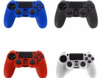 Controller Skin Covers Ps4 Blue - Red - Black - White & Controller Stick Covers Playstation 4