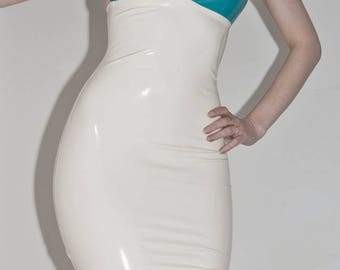 LaTeX basic Halter mini dress II colour choice