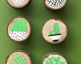 Cactus Magnets