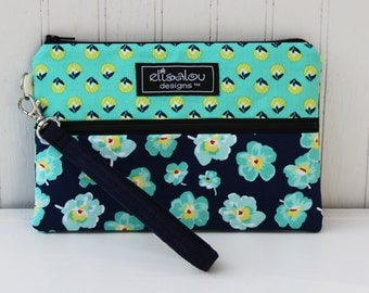 Padded Wristlet Mini Purse- Meadow