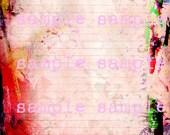 Sofortiger Download Mixed Media abstrakte Farbe Mandala Henna Färbung Seite Journal Seite stationäre Scrapbook gefüttert Papier